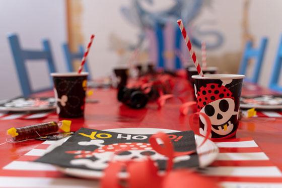 Geburtstagsdekoration Pirat