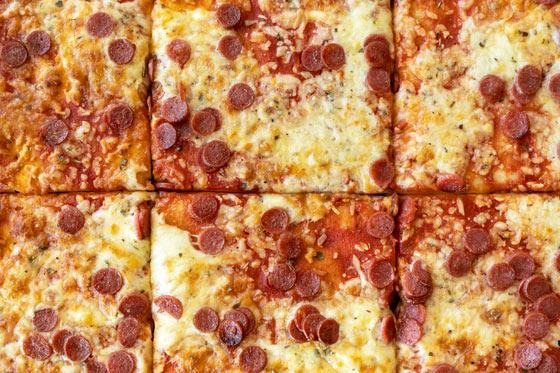 Funtasia Geburtstagsmenü Pizza